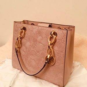 Michael Kors Pink Gold Cynthia Bag